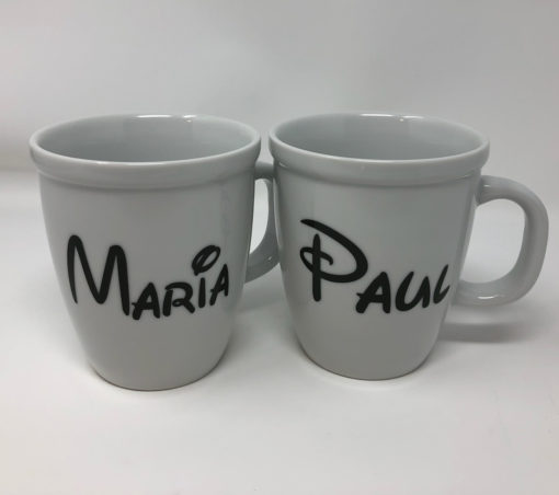 Custom Ceramic Bistro Mugs